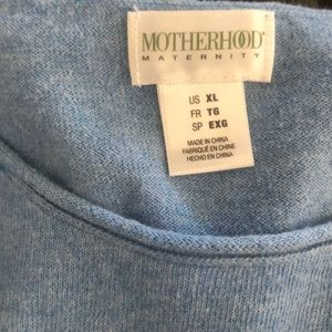 Maternity light sweater